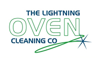 Lightning Oven Cleaning Logo